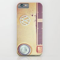 vw iPhone & iPod Cases featuring vw by shannonblue