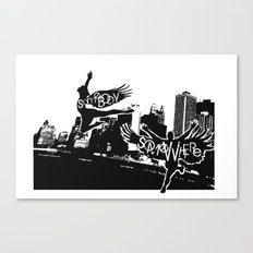 Somebody Somewhere Canvas Print
