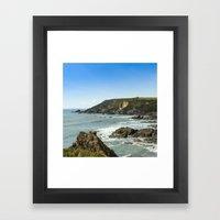 Cornishseascapes Gunwalloe 02 Framed Art Print