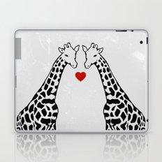 Giraffe Love Laptop & iPad Skin