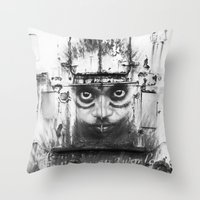 Boatface Throw Pillow