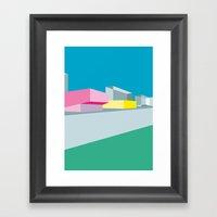 Berlin Perspectives - Ki… Framed Art Print