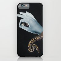 iPhone Cases featuring All seeing eye II. by Daniela Samcova Collage