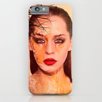 Tiger eyes portrait iPhone 6 Slim Case