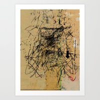 dithering 41 Art Print