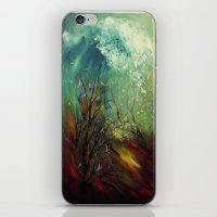 Wellen, die von der Unteren... iPhone & iPod Skin