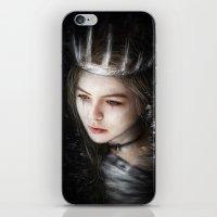 Flowers In The Dark iPhone & iPod Skin