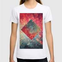 Random Square Womens Fitted Tee Ash Grey SMALL