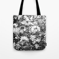 Flowers Pattern Tote Bag