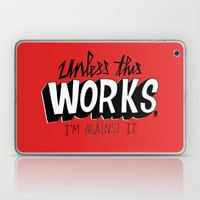 Mad Men: Unless this work, I'm against it. Laptop & iPad Skin