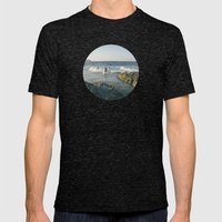 Surfers Mens Fitted Tee Tri-Black SMALL