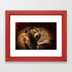 Bear Artistic Framed Art Print