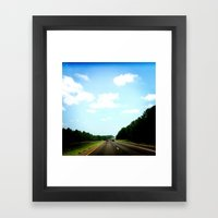 Country Texas Framed Art Print