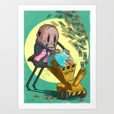 The Chipper Art Print