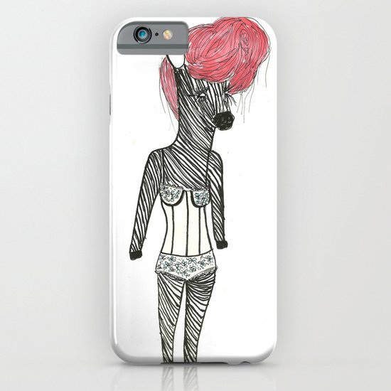 Sexy Zebra iPhone & iPod Case