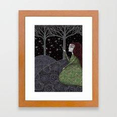 My Winter Stars Framed Art Print