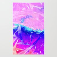 Aurora 3 - Ultraviolet Rug