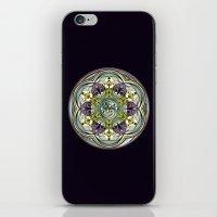 World Within Mandala iPhone & iPod Skin
