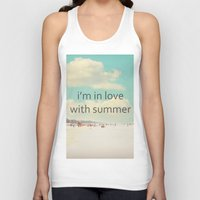 i'm in love with summer Unisex Tank Top