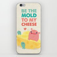Be My Cheese Mold iPhone & iPod Skin