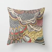 Quilted Forest: The Rabbit Throw Pillow