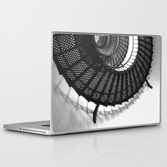 Spiral Stairs Laptop & iPad Skin