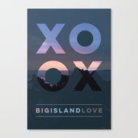 Big Island Love Canvas Print