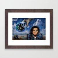 Jean-Michel Jarre 40 Years Oxygene  Framed Art Print