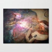 Galaxies Canvas Print