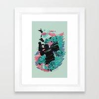 Wolf gang Framed Art Print