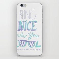 Being Nice iPhone & iPod Skin