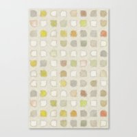 Retro Touch - Painting Style Canvas Print