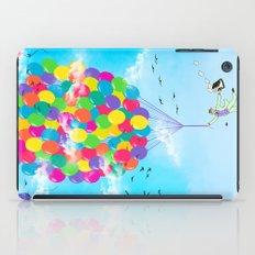 Neon Flight iPad Case