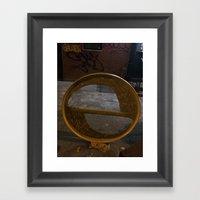 Interopia Enters Manhatt… Framed Art Print