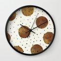 Mixed Dots Wall Clock
