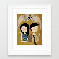 Franny & Zoooey Framed Art Print