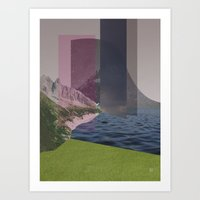 atmosphere 15 · Hall of the Mountain Grill Art Print