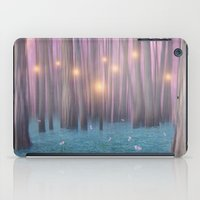 Pink Feather Dance iPad Case