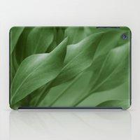 King Sugar Bush - King Protea - Leaves Green iPad Case