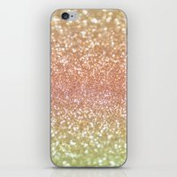 Champagne Shimmer iPhone & iPod Skin