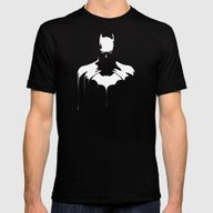 The Bat Mens Fitted Tee Black SMALL