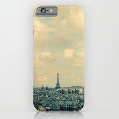 Paris In Blue iPhone 6s Slim Case