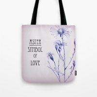 Symbol Of Love Tote Bag