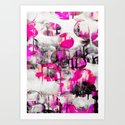Watercolor - 12 Art Print