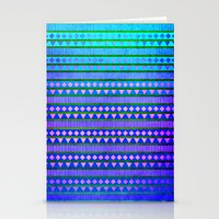 Aztec Night Stationery Cards
