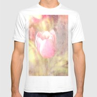 Tulip Mens Fitted Tee White SMALL