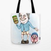 Jean Charest sucks Tote Bag