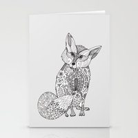 Doodle Fox Stationery Cards