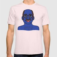 Tobias Funke Mens Fitted Tee Light Pink SMALL