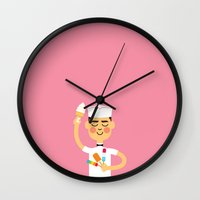 Taste Of Summer Wall Clock